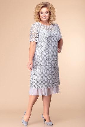 Платье Romanovich style 1-1849 серый