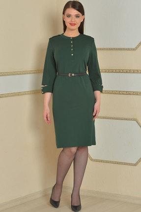 Фото - Платье Lady Style Classic 425 зеленый зеленого цвета
