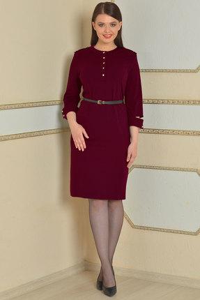 Купить со скидкой Платье Lady Style Classic 425 бордовый