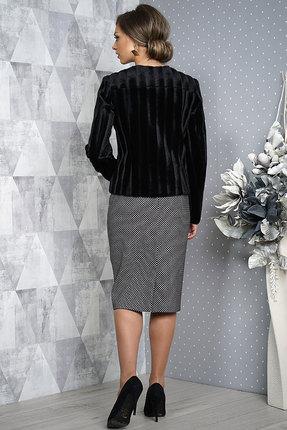 Фото 3 - Комплект юбочный Alani 987 черный с серым цвет черный с серым