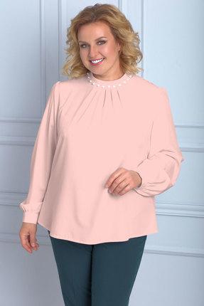 Блузка Anelli 611 розовый