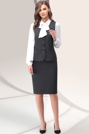 Комплект юбочный LeNata 32913 серый