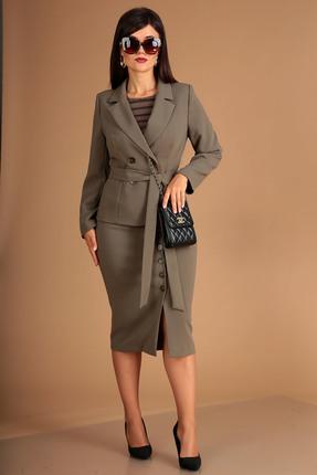 Комплект юбочный Мода-Юрс 2401 хаки