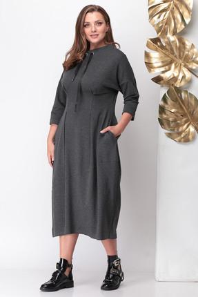 Купить со скидкой Платье Michel Chic 941 серый