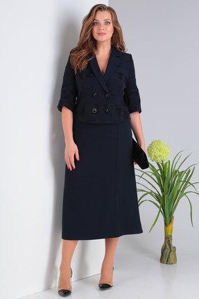 Комплект юбочный Viola Style 2634 синий