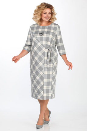 Платье Matini 31294 серый