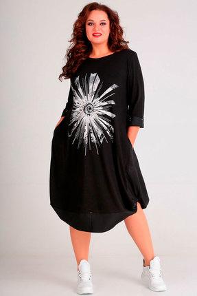 Платье Andrea Style 00182 черный
