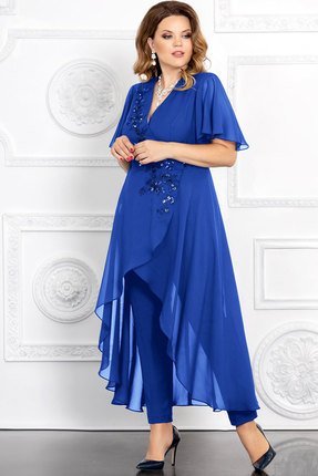 Комплект брючный Mira Fashion 4673 василёк