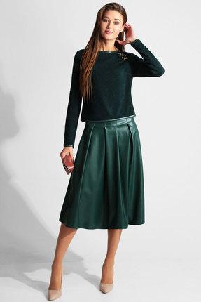 Комплект юбочный Axxa 26098д темно-зеленый