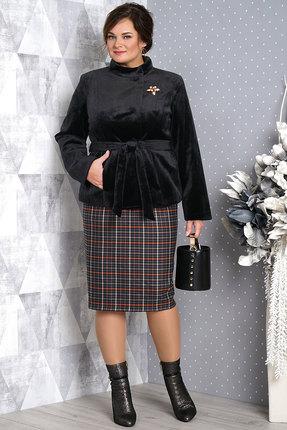 Комплект юбочный Alani 981 черный с серым