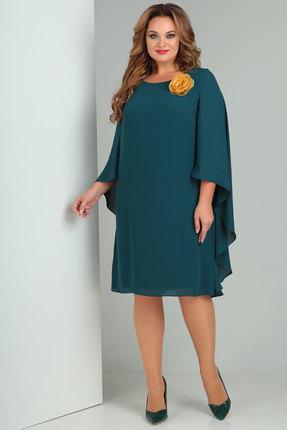 Платье Danaida 1724 зеленые тона