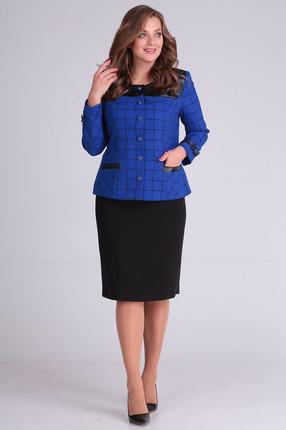 Комплект юбочный Anastasia Mak 650 синий