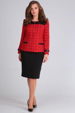 Комплект юбочный Anastasia Mak 650 красный