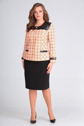 Комплект юбочный Anastasia Mak 650 персиковый