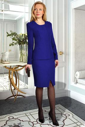 Комплект юбочный Миа Мода 986-1 василек