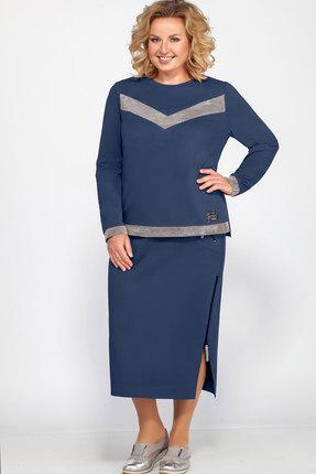 Комплект юбочный Bonna Image 454 синий