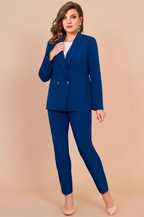 Комплект брючный Olga Style с621 синий