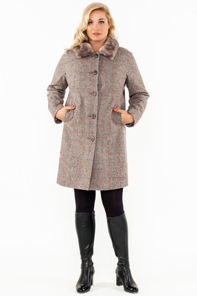 Пальто Bugalux 411а светло-коричневый