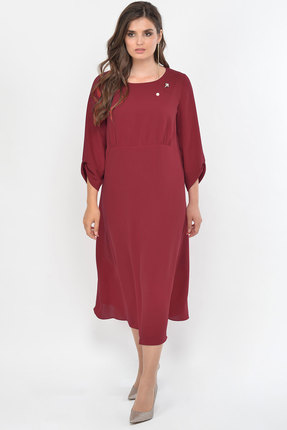 Платье Faufilure с895 бордо