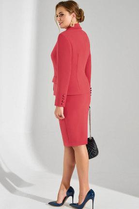 Фото 3 - Комплект юбочный Lissana 3797 коралловый кораллового цвета