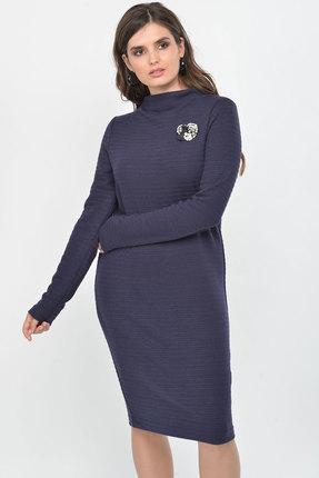 Фото - Платье Faufilure с1008 синий синего цвета