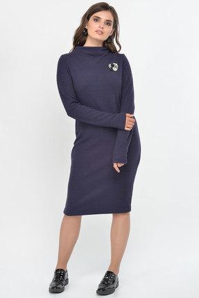 Фото 2 - Платье Faufilure с1008 синий синего цвета