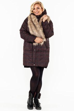 Пальто Bugalux 417 вишневый