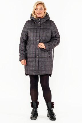 Пальто Bugalux 417 сине-серый