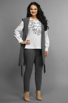 Комплект брючный Andrea Style 005 серый