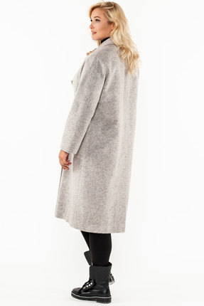 Фото 2 - Пальто Bugalux 938а серый серого цвета