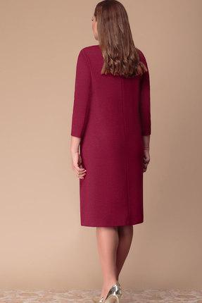 Фото 2 - Платье Nadin-N 1720 вишня цвет вишня