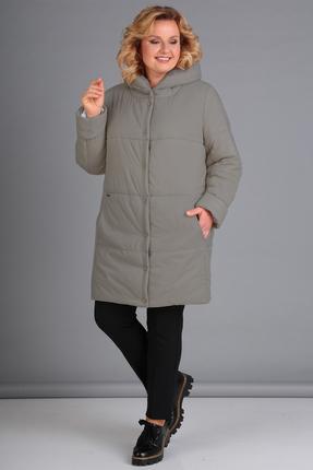 Купить со скидкой Куртка Диамант 1448 серый