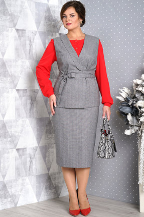 Комплект юбочный Alani 1011 серый