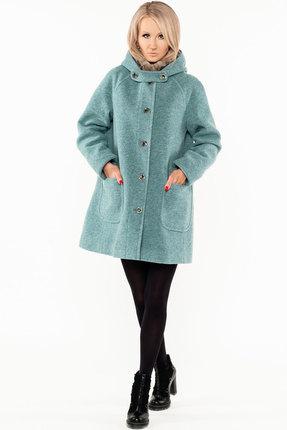 Пальто Bugalux 439а бирюзовый