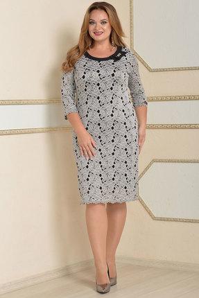 Платье Lady Style Classic 1827 серые тона