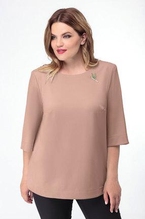 женская блузка дали, лиловая