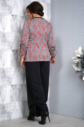 Фото 2 - Комплект брючный Alani 1001 черно-серый черно-серого цвета