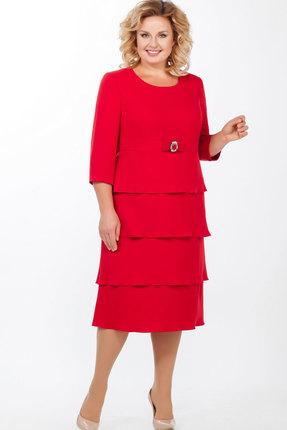 Платье Теллура-Л 1461 красный