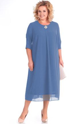 Платье Algranda 3310-с голубой Новелла Шарм