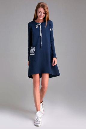 Спортивное платье Panda 450880 синий