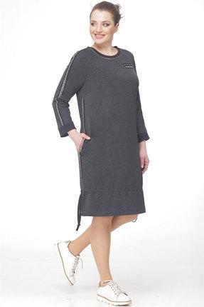Спортивное платье Ladis Line 906 серый