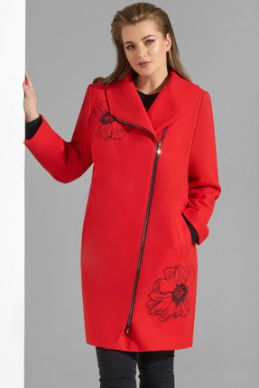 Пальто Lissana 3835 красный