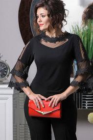 Блузка Solomeya Lux 633 черный