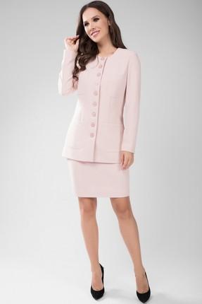Комплект юбочный Teffi style 1434 светло-розовые тона