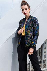 Куртка Divina D 3.130 синий с цветным