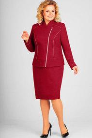 Комплект юбочный Асолия 1215 бордовый