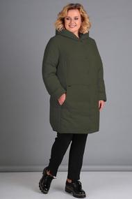 Куртка Диамант 1448 зеленый