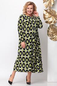 Платье Michel Chic 943\1 зеленые тона