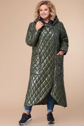 Купить со скидкой Пальто Svetlana Style 1308 хаки
