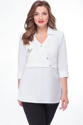 Блузка Дали 2464 белый
